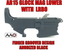 AR9 Dedicated Glock 9mm Magazine with LRBHO