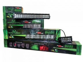 Predator Series Blackout Light Bars