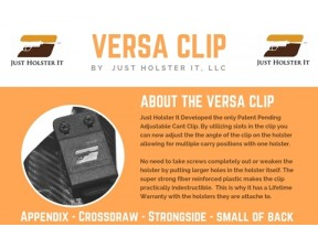 Versa Clip - Multi Position Holsters