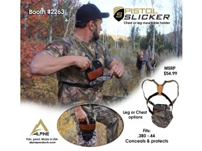 Pistol Slicker: Chest & Leg Harness