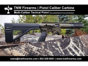 Multi-Caliber Tactical Pistol By TNW