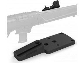 NcSTAR® Ruger® PC Carbine™ RMR® footprint and rear sight mount